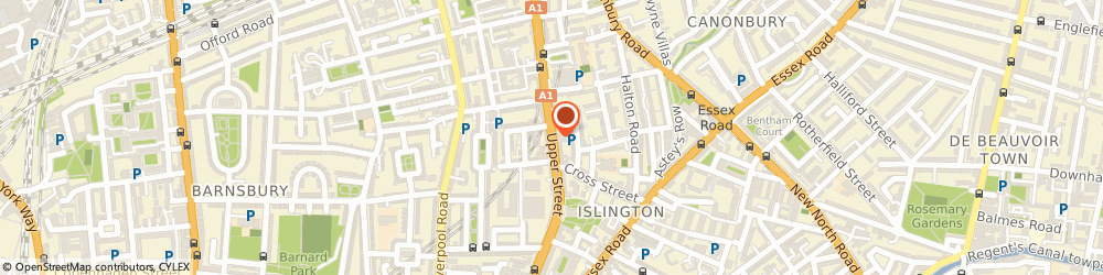 Route/map/directions to Islington Locksmiths, N1 2TZ London, Upper Street