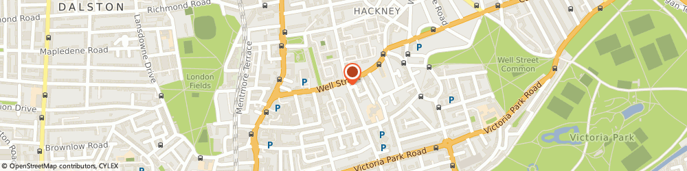 Route/map/directions to Freed Of London Ltd, E9 7PX London, 62-64 Well St