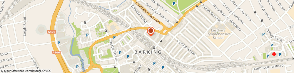 Route/map/directions to Westech College, IG11 8PD Barking, 8Th Floor/Wigham House Wakering Road