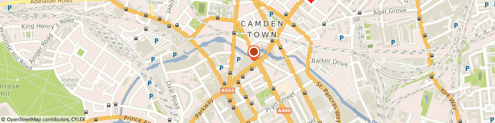 Route/map/directions to Oxfam Clothing Bank, NW1 9LJ London, Kentish Town Road (Outside Sainsbury'S)