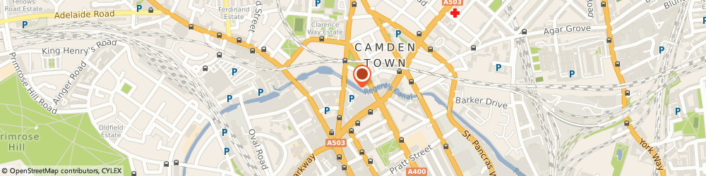 Route/map/directions to Facts & Figures Financial Planners Ltd, NW1 9NX London, Grand Union House, 20 Kentish Town Road