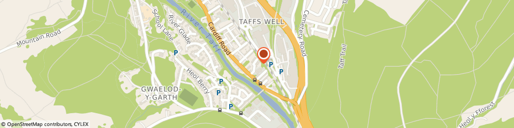 Route/map/directions to Jc Scaffolding Services Ltd, CF15 7YF Cardiff, Garth Estate