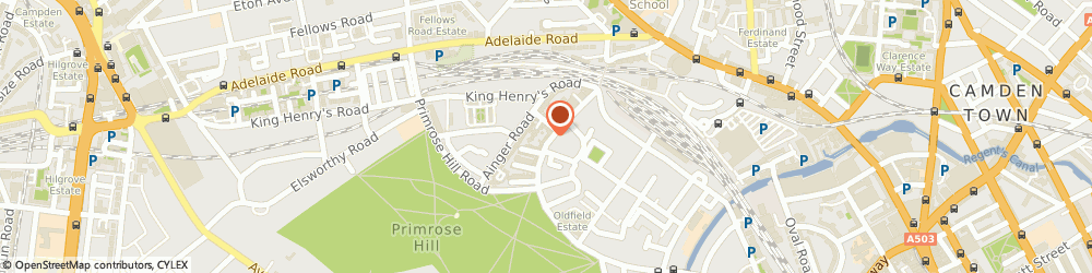 Route/map/directions to Studio 8 Ltd, NW1 8UY London, 83 REGENTS PARK ROAD