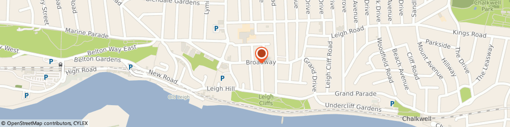 Route/map/directions to Specsavers Opticians and Audiologists - Leigh-on-Sea, SS9 1AJ Leigh-On-Sea, 32 Broadway