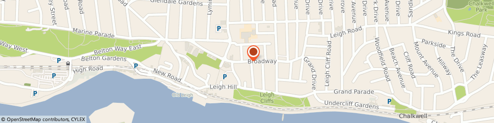Route/map/directions to The Estuary In Leigh, SS9 1PA Leigh-On-Sea, 45 Broadway