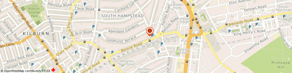 Route/map/directions to SweetTree Home Care Services, NW6 3QH London, 2-3 Coleridge Gardens