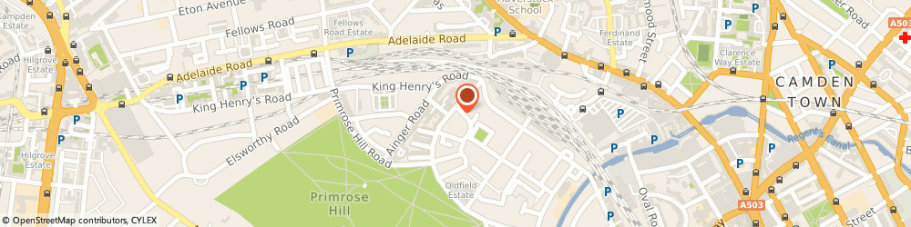 Route/map/directions to John D Wood & Co Estate Agents Primrose Hill, NW1 8XN London, 166 Regents Park Road