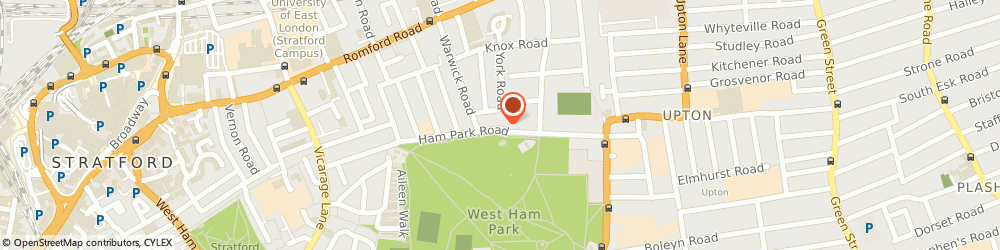 Route/map/directions to Ian Mowll Celebrant, E7 9LE London, 137 Ham Park Rd
