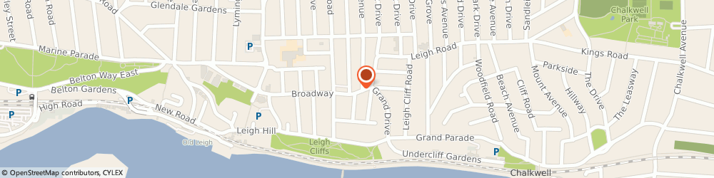 Route/map/directions to Leigh Bistro Restaurant, SS9 1PG Leigh-On-Sea, 123 Broadway