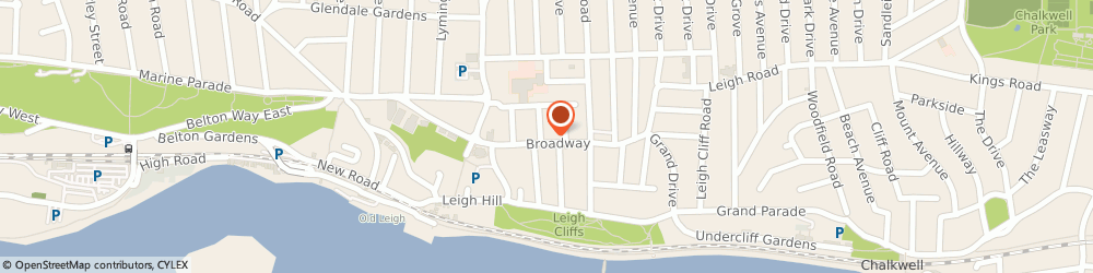 Route/map/directions to Ancatown Limited, SS9 1PE Leigh-On-Sea, 57A Broadway