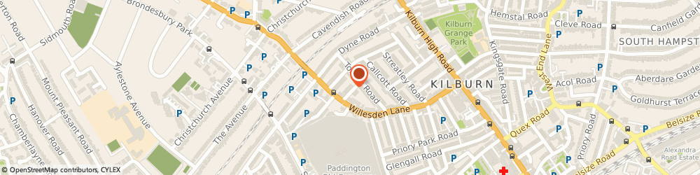 Route/map/directions to Divine Events Planner, NW6 7TG London, 7 Clarence Rd