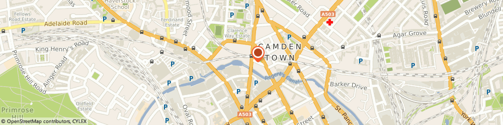 Route/map/directions to A.a Locksmiths, NW1 8PB London, 103 Kentish Town Road