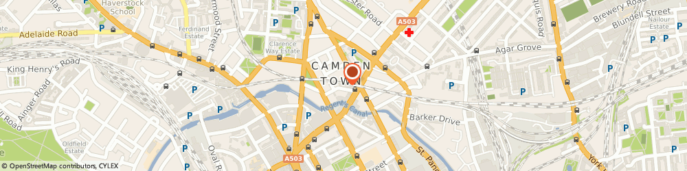 Route/map/directions to London Sound Academy, NW1 9PE London, 17-19 Bonny St