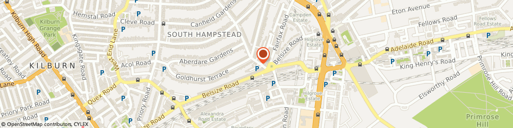 Route/map/directions to Connoisseur Dry Cleaners, NW6 3QE London, 3-5 Fairhazel Gardens