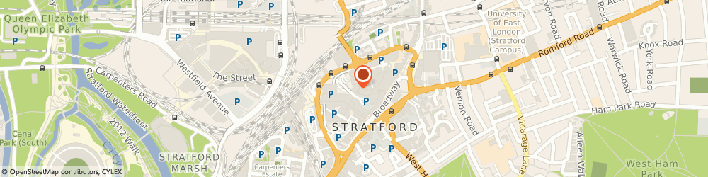 Route/map/directions to Risky Ltd, E15 1XF London, Unit 77, The Stratford Centre