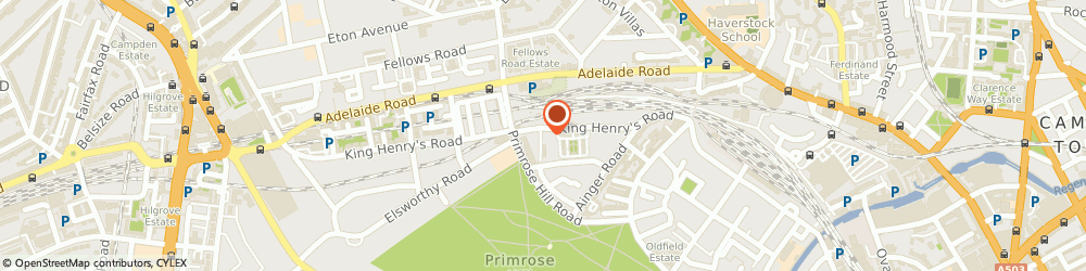 Route/map/directions to KOMODO, NW3 3QU London, 77C King Henry's Rd