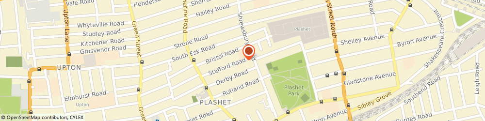 Route/map/directions to Shah J A, E7 8NN London, 98 STAFFORD RD