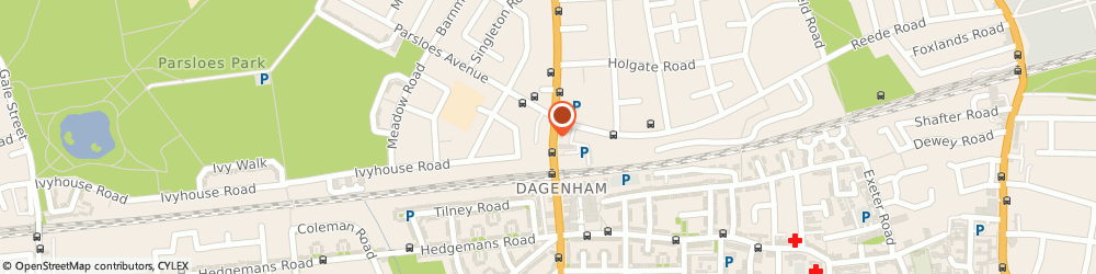 Route/map/directions to Nationwide Building Society, RM9 5BT Dagenham, 291 Heathway