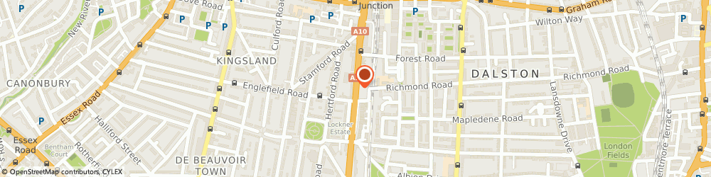 Route/map/directions to Durable Fasteners Ltd, E8 4AA London, 430 KINGSLAND ROAD