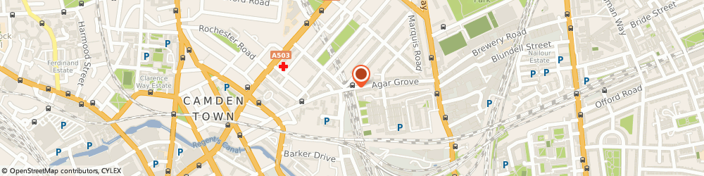 Route/map/directions to Camden Locksmiths 020 7060 4183, NW1 9UE London, 83c Agar Grove