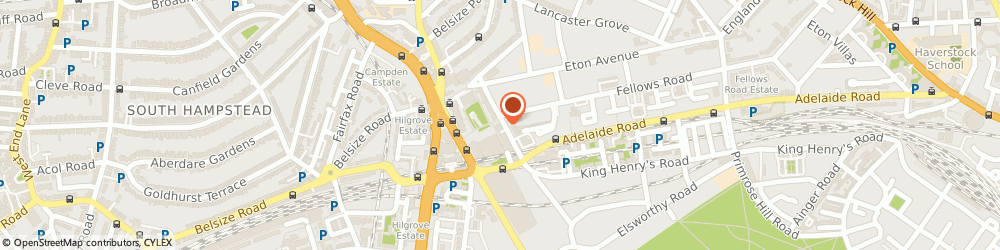 Route/map/directions to Swiss Cottage, NW3 3NR London, 19 Winchester Rd