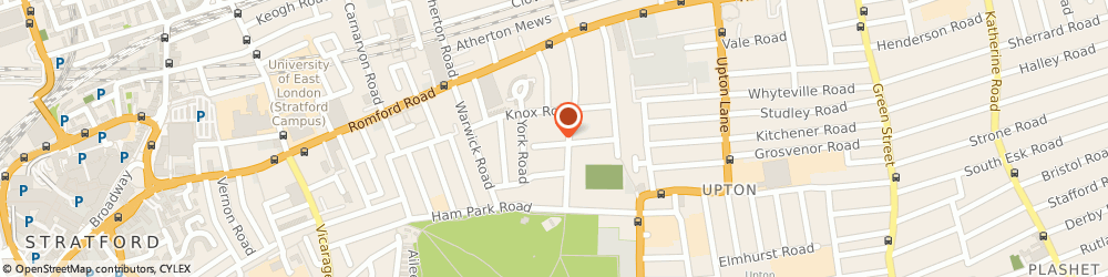 Route/map/directions to Karen Kershaw Consulting Limited, E7 9JX London, 10 SALISBURY ROAD