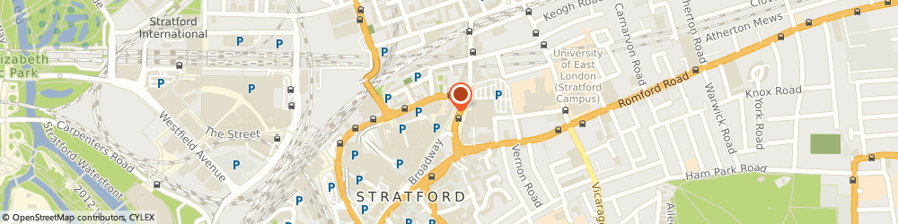 Route/map/directions to Transfers4airports, E15 1NS London, 128-130 The Grove