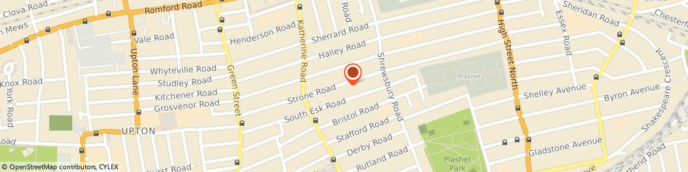 Route/map/directions to Force Maintenance Team Ltd, E7 8ES London, 104 Strone Road
