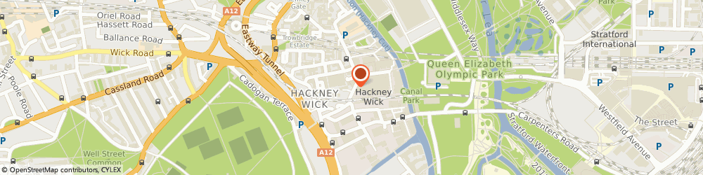 Route/map/directions to ADA FOOD & WINE LTD, E9 5LH London, 59 Wallis Rd