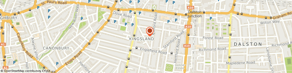 Route/map/directions to London Calling Arts Ltd, N1 4HP London, 14a Ardleigh Road