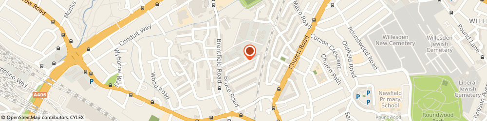 Route/map/directions to SGK ACCOUNTANCY, NW10 8RA London, 49 Alric Avenue