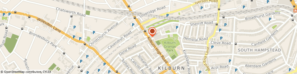 Route/map/directions to Cash Converters, NW6 7JR London, 315 Kilburn High Road