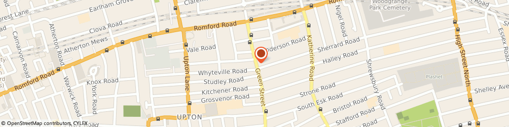 Route/map/directions to Jusst Pink, E7 8JG London, 68 Green St