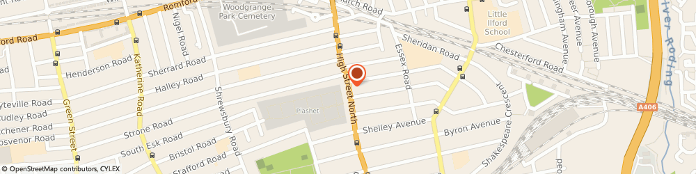 Route/map/directions to Hi-Tech Appliances, E12 6PG London, 375-377, High St North