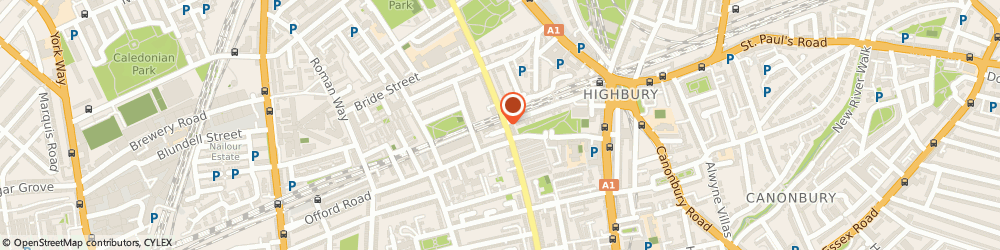 Route/map/directions to SED EV Charging, N1 1NP London, 391 Liverpool Road