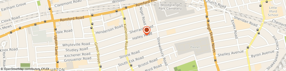 Route/map/directions to FAEDUCATIONANDSECURITY LTD, E7 8DU London, 146 Halley Road