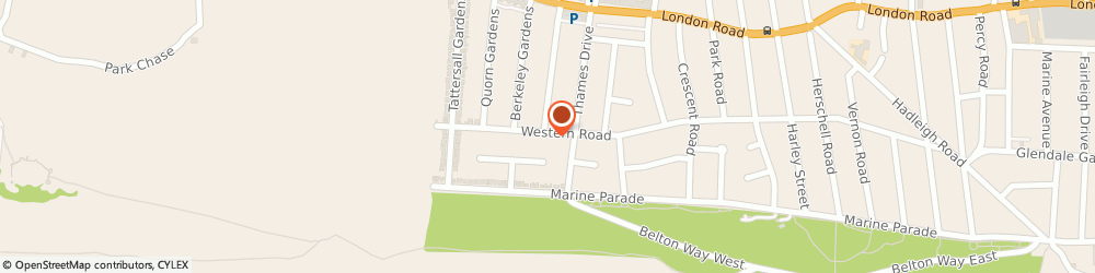 Route/map/directions to Hayes Physiotherapy Clinic, SS9 2QY Leigh-On-Sea, 246 Western Road, Southend-On-Sea Western Rd