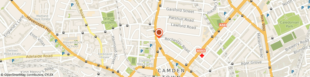 Route/map/directions to Wong Shoe Repairs, NW1 8PD London, 153 Kentish Town Road