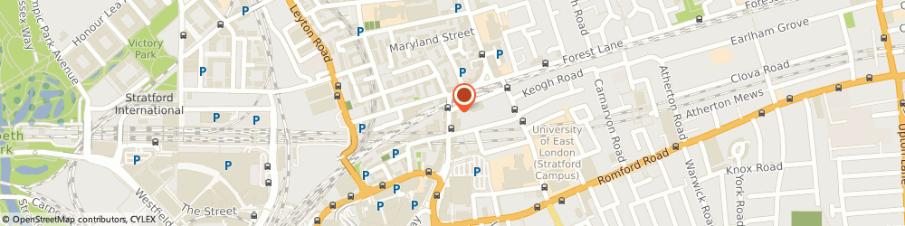 Route/map/directions to Smi Construction Limited, E15 1EN London, 127a The Grove