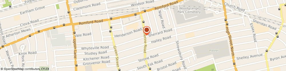 Route/map/directions to CMS Home Ltd, E7 8DR London, 503 Katherine Road