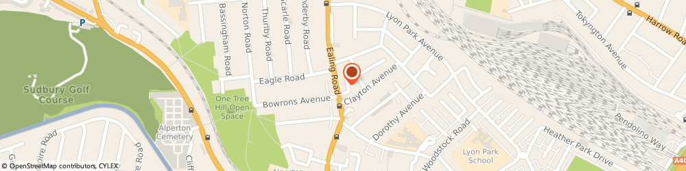 Route/map/directions to Jabeens, HA0 4BP Wembley, 131A Ealing Rd