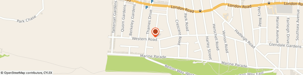 Route/map/directions to Mrs Maureen Chesterman Leigh-on-Sea, SS9 2PQ Leigh-On-Sea, 227 Western Rd