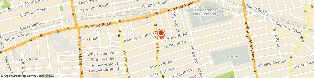 Route/map/directions to Sm Property, E7 8DP London, 468 KATHERINE ROAD