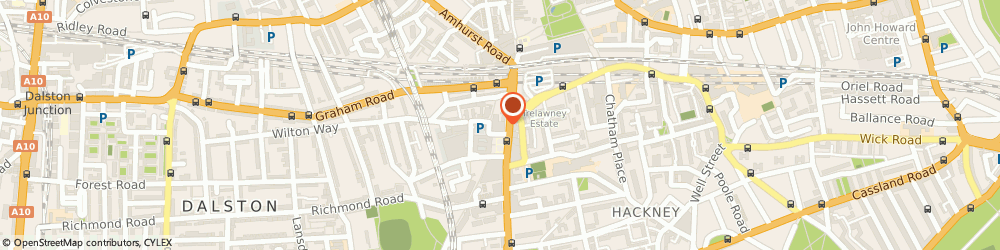 Route/map/directions to Hackney Empire Ltd, E8 1EJ London, 291 Mare Street
