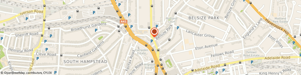 Route/map/directions to Moorlands Estate Agents, NW3 5DN London, 27A, Northways Parade, College Crescent