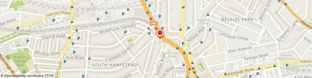 Route/map/directions to Garden Cafe & Restaurant, NW6 3HX London, 3 Goldhurst Terrace