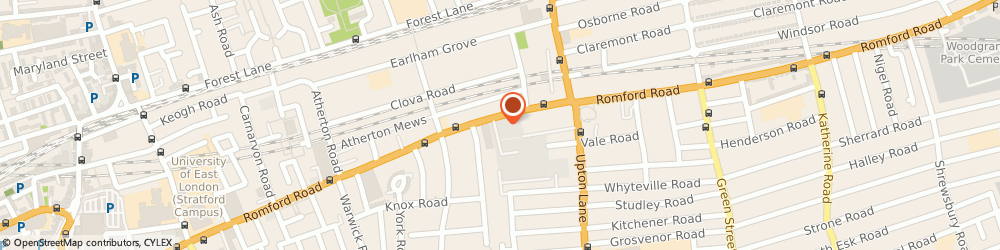 Route/map/directions to Go Custom Boxes, E7 9HZ London, 246- 250 Romford Road, City Gate House