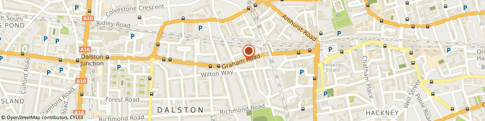 Route/map/directions to Blue Swift SEO, E8 1BX London, 108a Graham Road