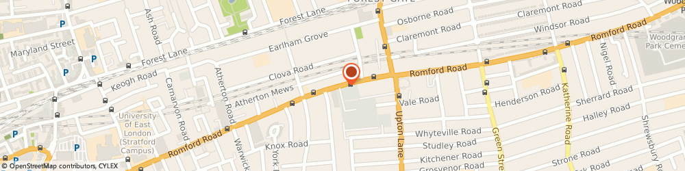 Route/map/directions to Balinda & Co Personal Injury Solicitors, E7 9HZ London, 246-250 ROMFORD ROAD