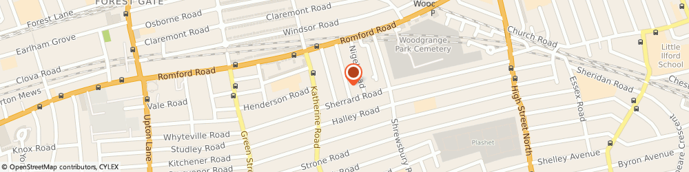 Route/map/directions to SK Bookkeepers - London, E7 8AS London, 61 Birchdale Rd